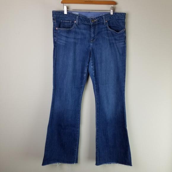 GAP Denim - GAP 1969 Curvy Flare Jeans 32/14r Med.   C44